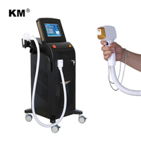 FDA and Medical CE approved 808nm diode laser hair removal machine price / alma soprano ice platinum laser diode machine