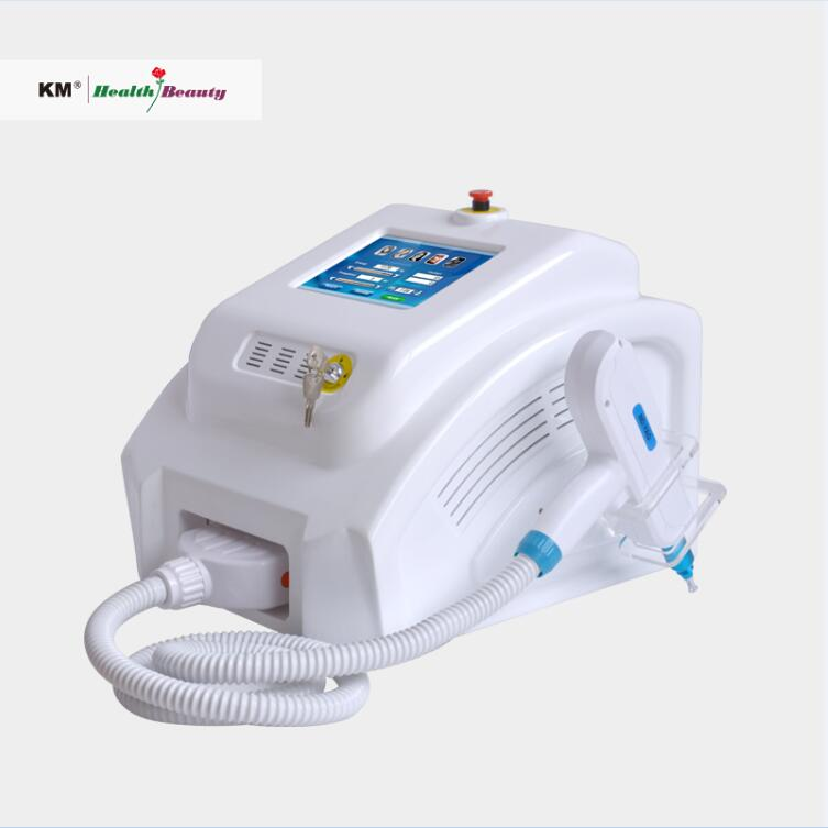 Powerful nd yag laser tattoo removal machine with 532nm,1064nm,1320nm head