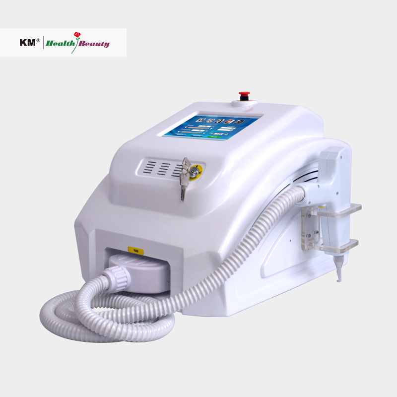Professional q switched 532 1064 1320, nd yag laser tattoo removal machine